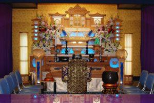 ファミリーホール祭壇
